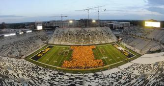 Kinnick Hawkeye Football Stadium