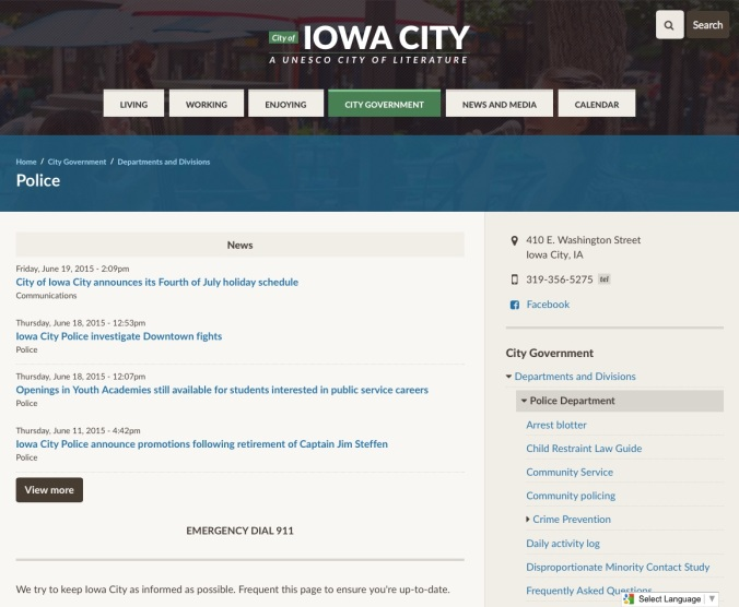 20150619fr-iowa-city-government-municipal-website-police