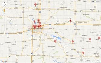 Page Visitors - Des Moines